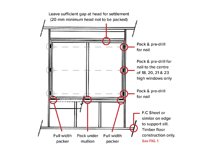 How to install a sliding window - A&L