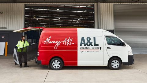 A&L Windows van