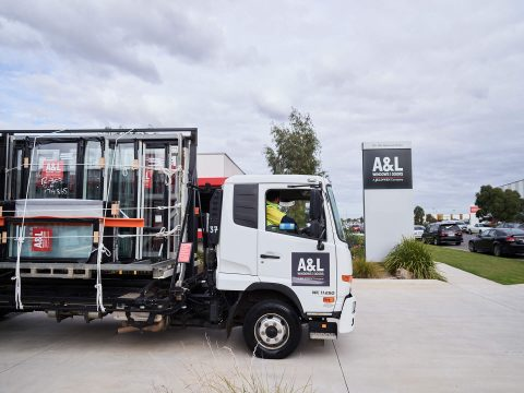 A&L Windows truck
